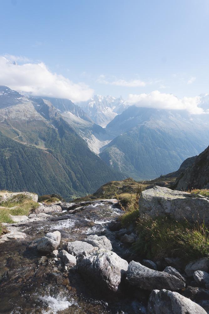 Randonnée Lac blanc Geneve Alpes