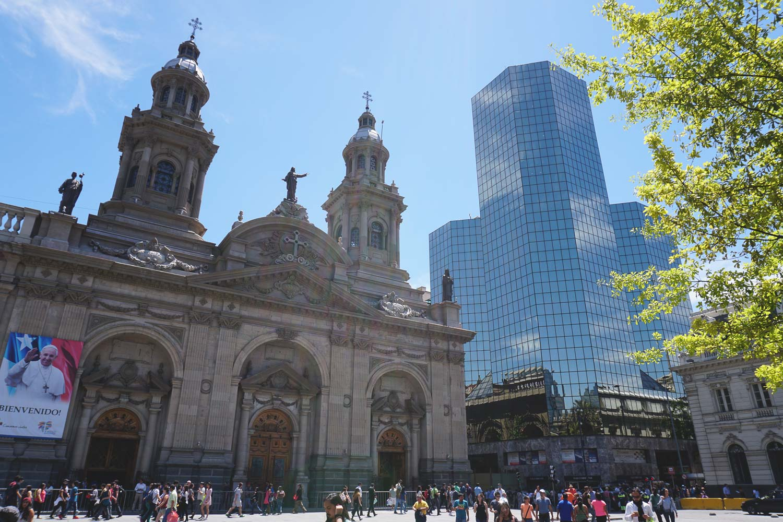 Plaza de armas Santiago chili